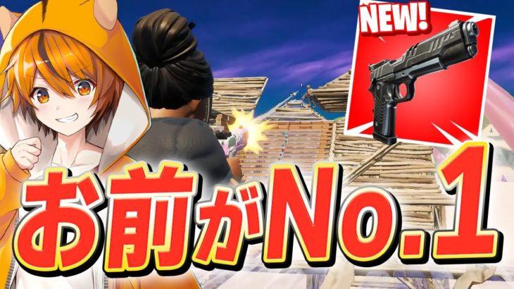 シーズン5で保管庫から帰還した「No.1武器」をアリーナで使う、はむっぴ【フォートナイト/Fortnite】
