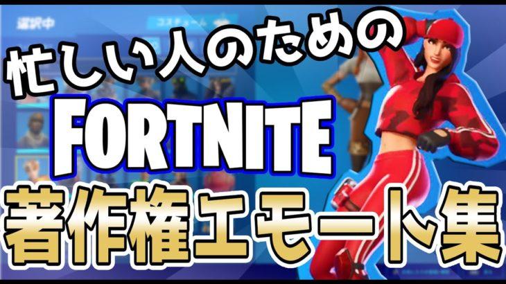 著作権エモート集【フォートナイトエモート】【Fortnite】