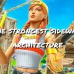 【フォートナイト】まじで使える 横飛び建築 (低感度PAD勢の建築動画#11)
