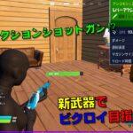 【フォートナイト】新武器登場⁉ソロやってみるw