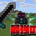 マイクラアドオン最強の剣、最強装備、最強つるはしが最強すぎた!!【Minecraft】【マインクラフト】【統合版BE(PE/win10/Xbox/ps4)】