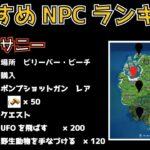 チャプター2シーズン7のNPCランキングTOP10【フォートナイト攻略】【Fortnite】