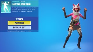 LEAVE THE DOOR OPEN エモート #shorts【フォートナイト/Fortnite】