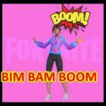 【耐久エモート】BIM BAM BOOM【アイコンシリーズ】【フォートナイト】【公式バージョン】1分間耐久著作権エモート【ビムバムブーム】